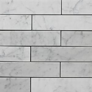 carrara subway 300x75mm honed polished