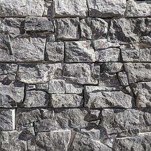 castle black dry stone wall cladding