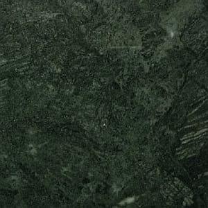 dark green polished marble