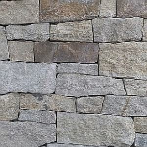 golden temple dry stack stone wall cladding
