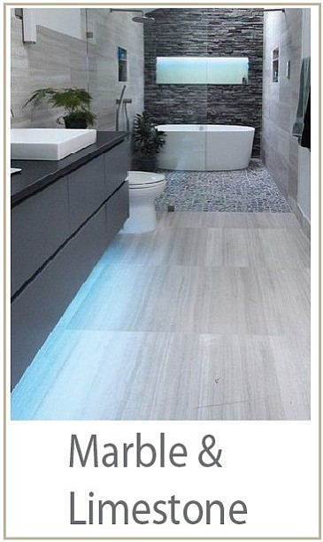 marble tiles and limestone tiles