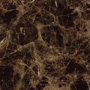 marron emprador polished marble