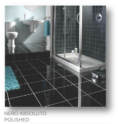 Nero Absoluto absoluto polished exle