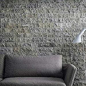 silver travertine stone wall cladding