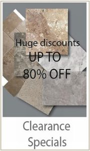 Stone Tile Clearance Specials