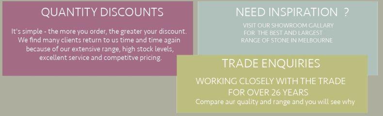 stone tiles quantity discounts