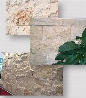 travertine classic split large format stone wall cladding