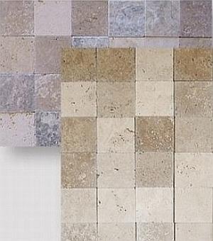 travertine tumbled mix blends tiles