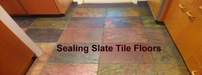 Sealing Slate Floor Tiles, Is it necessary? Find out here.