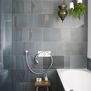 bathroom tile ideas slate tiles