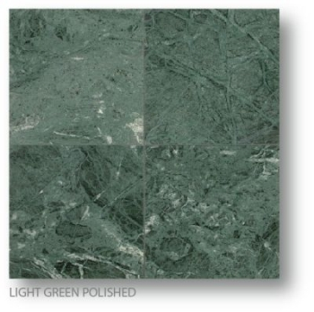 Light Green Polished Marble Tile 3