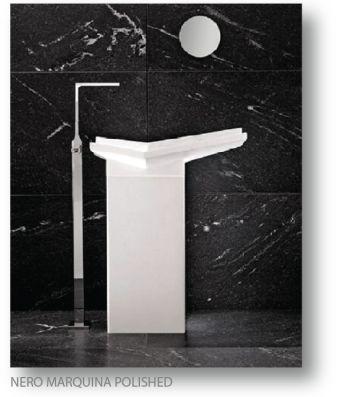 Nero Marquina Polished Marble tile 2