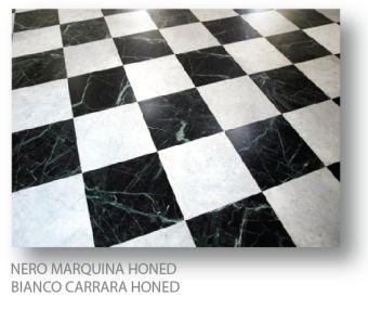 Nero Marquina Polished Marble tile 4