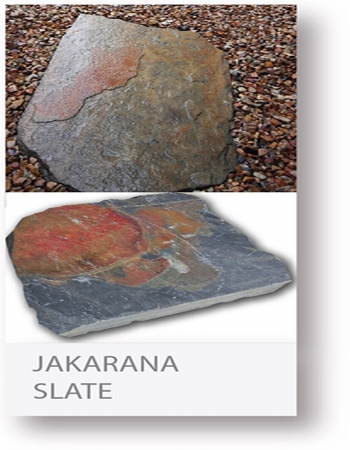 jakarana slate stepping stone