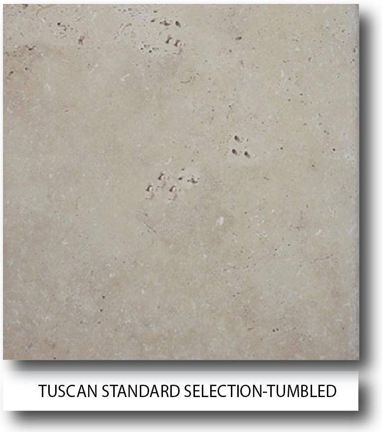 tuscan standard selection Travertine tiles
