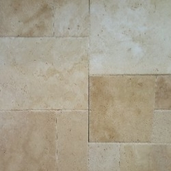 brushed travertine