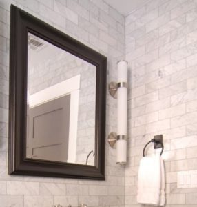 carrara marble subway tiles