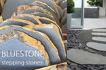 bluestone stepping stones