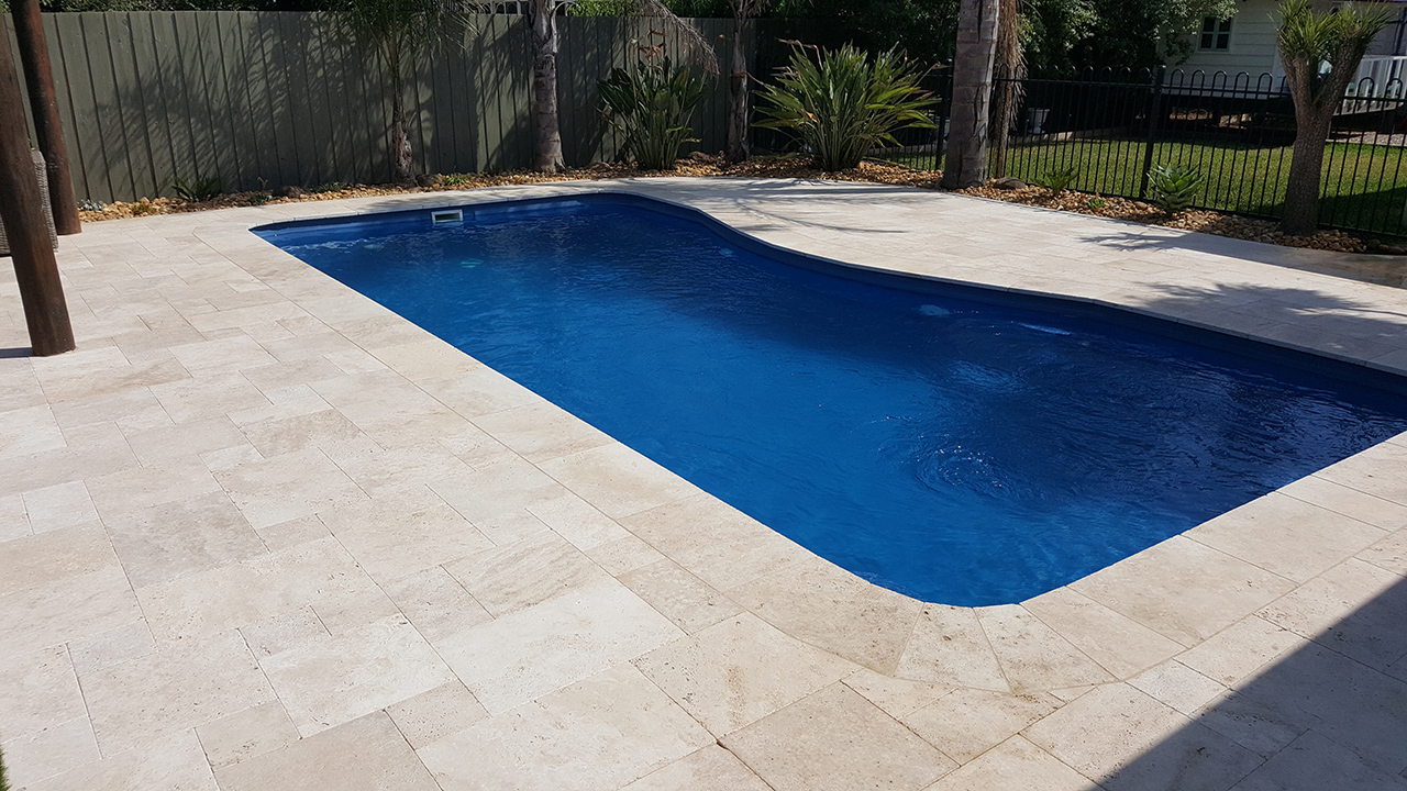 Tuscan travertine for Swimming pool display centres melbourne