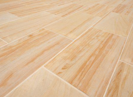 teakwood honed sandstone tile paver