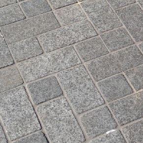 black pearl brick pattern granite cobblestones