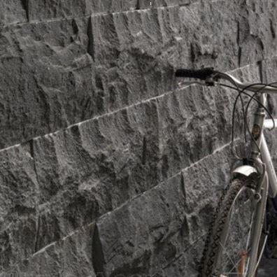 Diamond Black Stone Wall Cladding