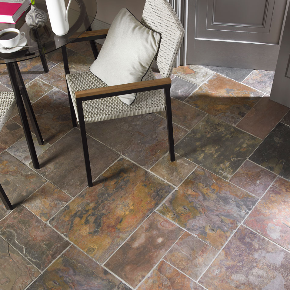 Kund multicolour slate tiles this beautiful tile supplied by rms kund multicolour slate kund multicolour slate dailygadgetfo Images