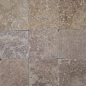 noce travertine cobblestones