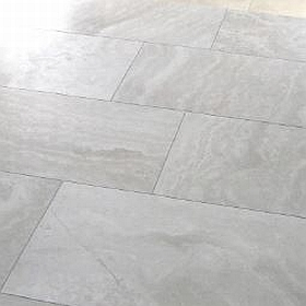perlino bianco honed limestone tiles