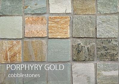 porphyry gold cobblestones