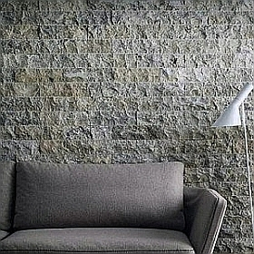 silver travertine stone wall cladding