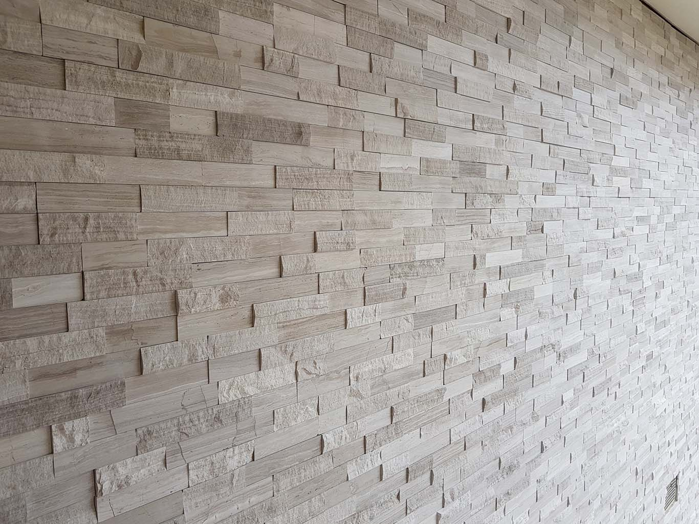 Whitewood Limestone Stackstone Stone Feature Wall Cladding