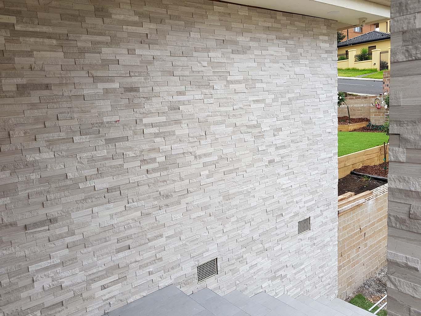 Whitewood Limestone Stackstone Stone Feature Wall Cladding