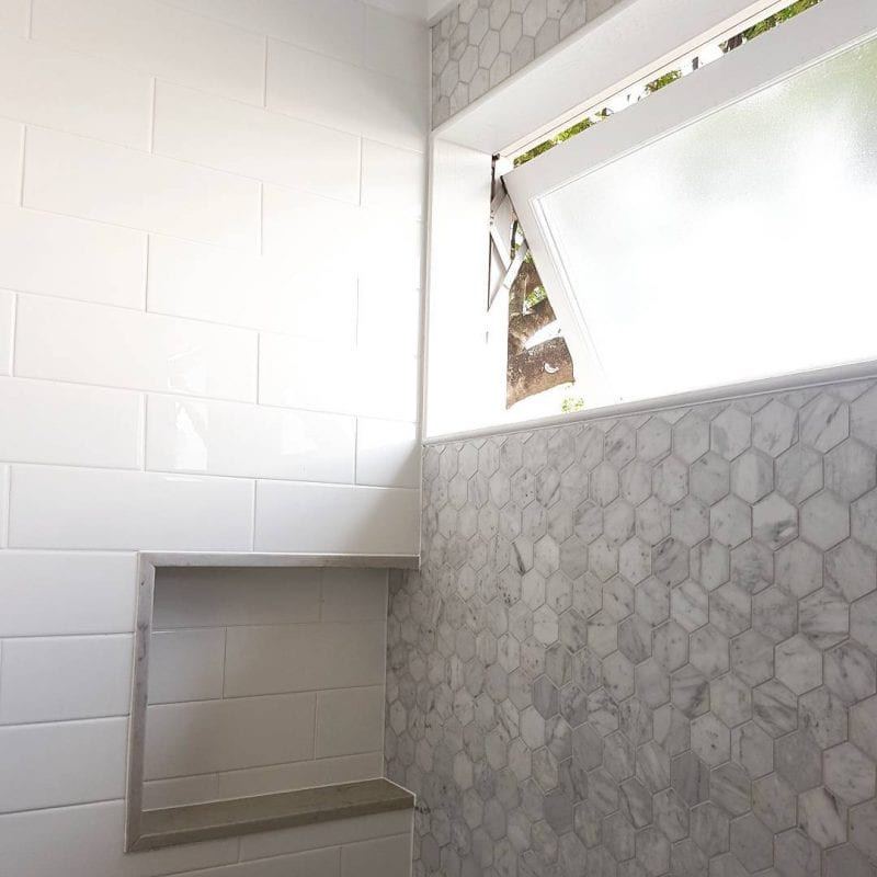 Bianco Carrara Hexagon Marble Tiles