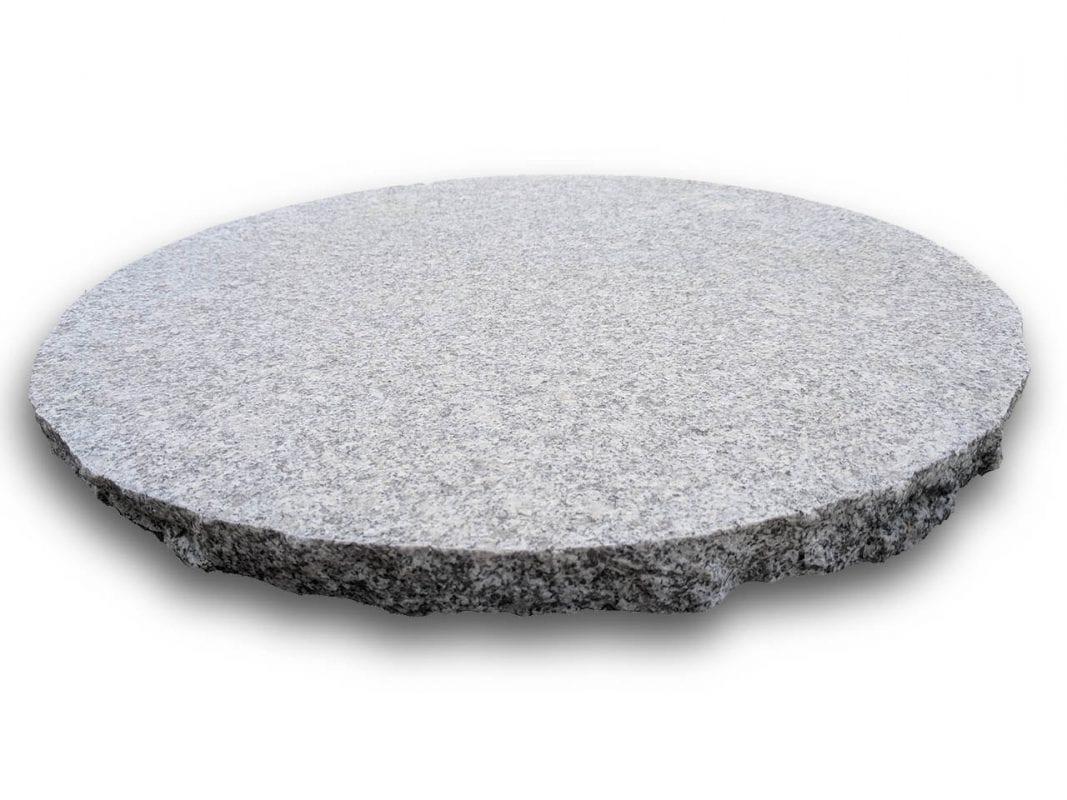 Opal White Granite Stepping Stones