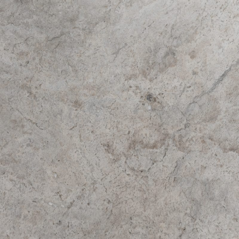 Silver Oyster Travertine Unfilled & Tumbled