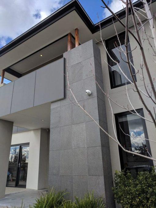 impala-Black-Flamed-Granite-Paver-tile-facade
