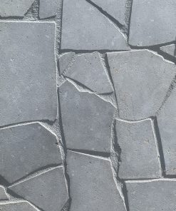 LONDON GREY SANDBLASTED LIMESTONE CRAZY PAVING STONE TILSE BY RMS TRADERS