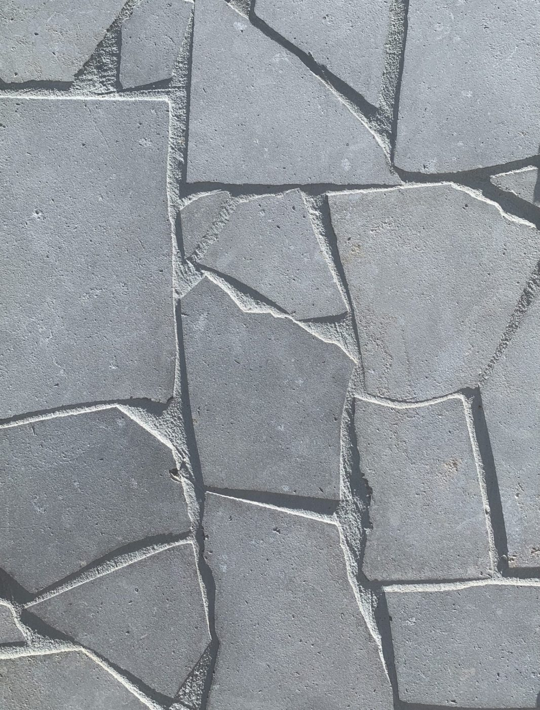 London Grey Limestone Sandblasted Crazy Paving