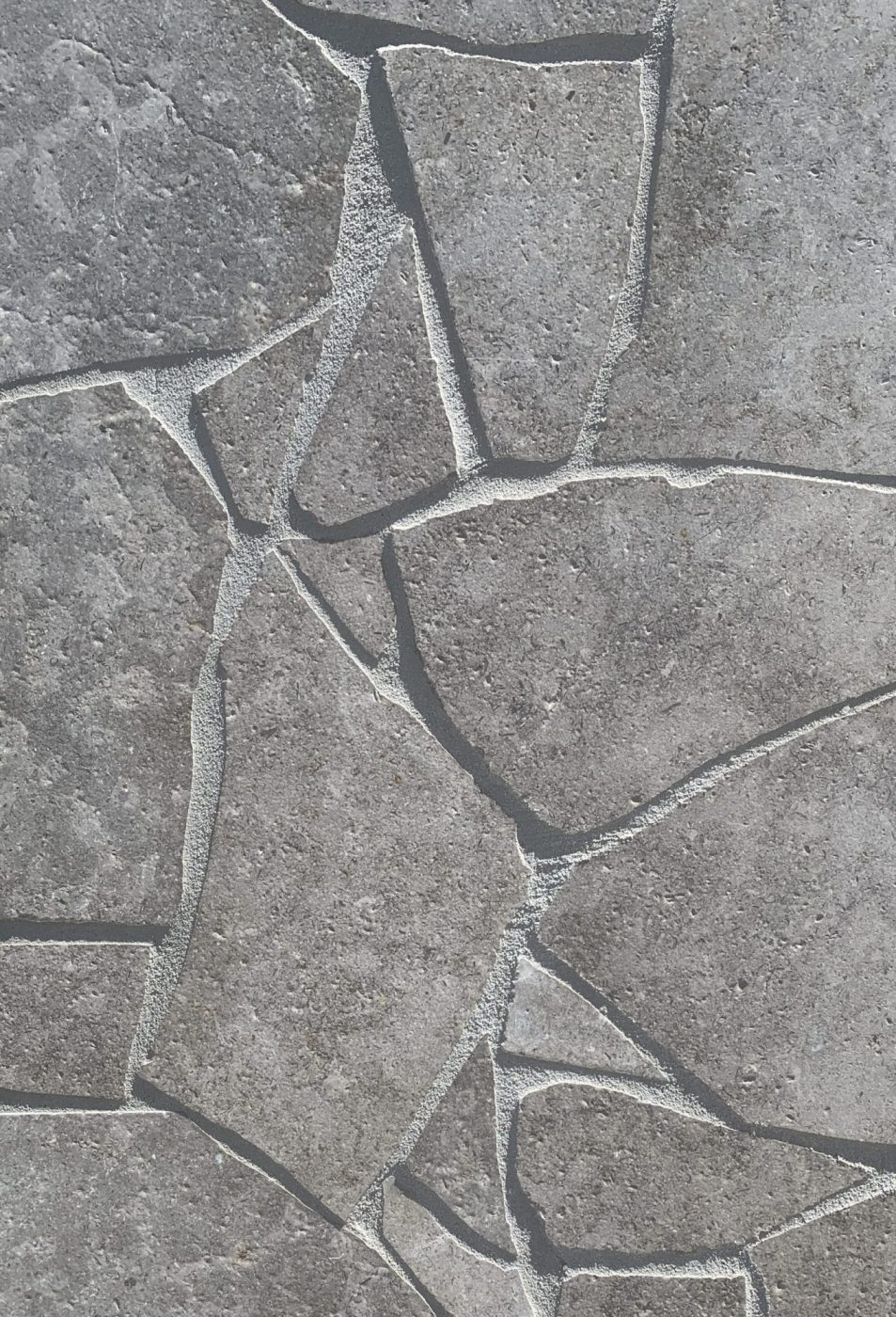 London Grey Limestone Crazy Paving