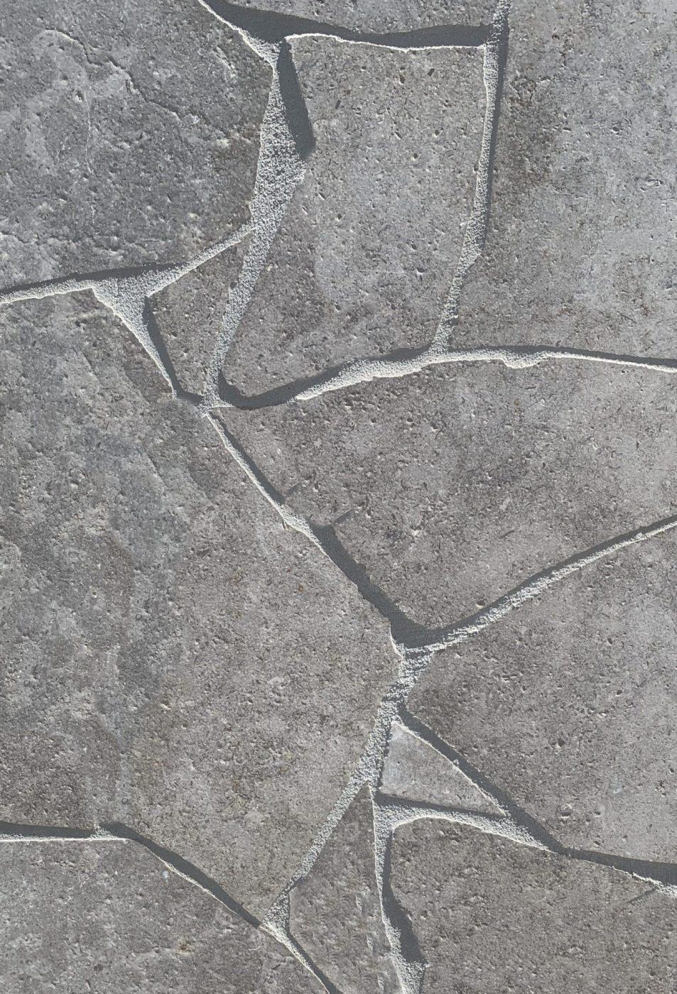 London Grey Limestone Crazy Paving