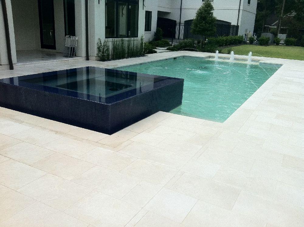 Savana Light Limestone Coping Tiles